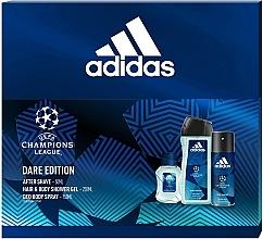 Kup Adidas UEFA Dare Edition - Zestaw (sh/gel 250 ml + deo/spray 150 ml + ash/lot 50 ml)