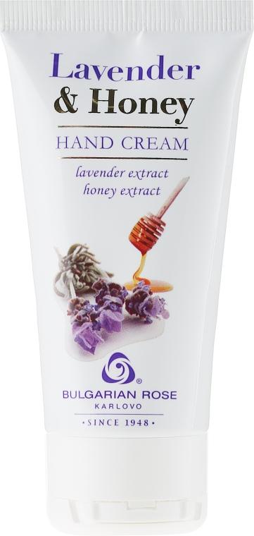 Krem do rąk Lawenda i miód - Bulgarian Rose Lavender & Honey — фото N1