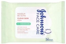 Kup Delikatne chusteczki nawilżane - Johnson's Face Care Clear Skin Wipes