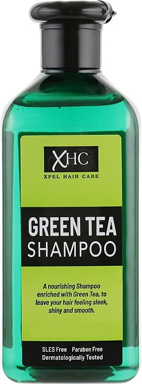 Szampon do włosów suchych i zniszczonych - Xpel Marketing Ltd Hair Care Green Tea Shampoo — фото N1