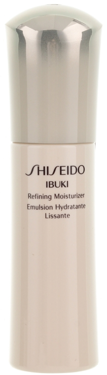 Emulsja nawilżająca przeciw oznakom zmęczenia - Shiseido Ibuki Refining Moisturizer Emulsion — фото N1