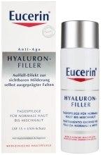 Kup Przeciwzmarszczkowy krem na dzień do skóry normalnej i mieszanej SPF 15 - Eucerin Hyaluron-Filler Day Cream For Combination To Oily Skin
