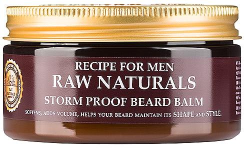 Balsam do stylizacji brody - Recipe For Men RAW Naturals Storm Proof Beard Balm — фото N1
