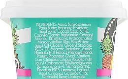 Masło do ciała Kokos i owoce tropikalne - Cosmepick Body Butter Coconut & Tropical Fruits — фото N3