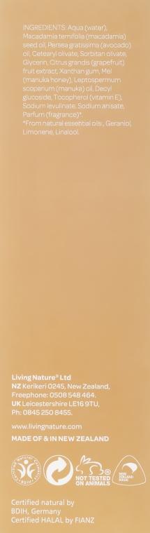 Oczyszczający żel z miodem manuka do cery normalnej i suchej - Natural Being Manuka Cleanser — фото N3