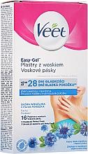 Kup Plastry z woskiem do depilacji pach dla skóry wrażliwej - Veet Easy-Gel