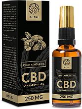 Kup PRZECENA! Naturalny olej ze słodkich migdałów CBD 250 mg - Dr. T&J Bio Oil *