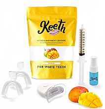 Kup Zestaw do wybielania zębów Mango - Keeth Mango Teeth Whitening Kit