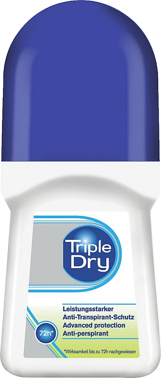 Antyperspirant w kulce - Triple Dry Deo Roll On Antitranspirant 72h — фото N1