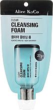 Kup PRZECENA! Oczyszczająca pianka do mycia twarzy - Alice Koco Clear Cleansing Foam *