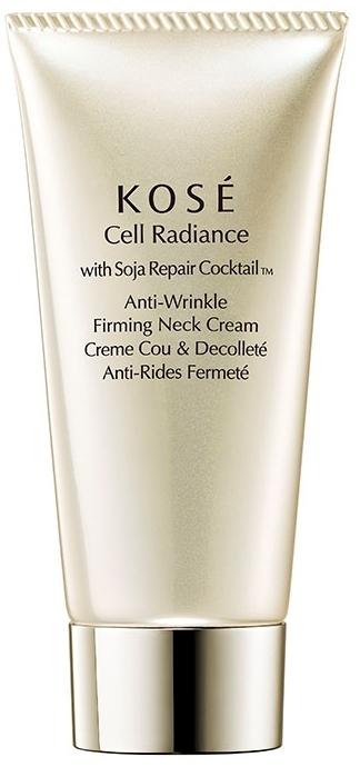 Przeciwzmarszczkowy krem do szyi - KOSE Soja Repair Cocktail Cell Radiance Anti-Wrinkle Firming Neck Cream — фото N1