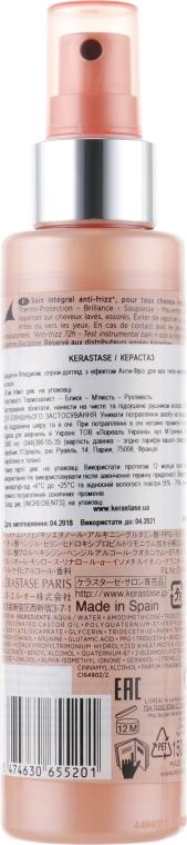 Termoochronny spray wygładzający do włosów nieposłusznych i puszących się - Kérastase Discipline Spray Fluidissime — фото N2