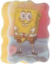 Kup Gąbka kąpielowa dla dzieci, Spongebob, różowo-niebieska - Suavipiel Sponge Bob Bath Sponge