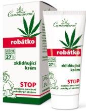 Kup Kojący krem dla dzieci do skóry wrażliwej i podrażnionej - Cannaderm Robatko