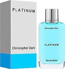 Kup Christopher Dark Platinum - Woda toaletowa