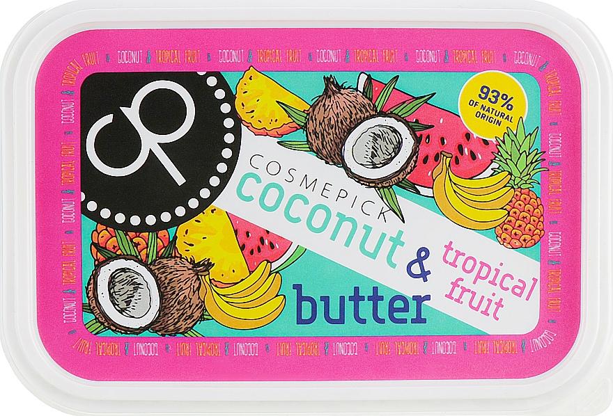 Masło do ciała Kokos i owoce tropikalne - Cosmepick Body Butter Coconut & Tropical Fruits — фото N1