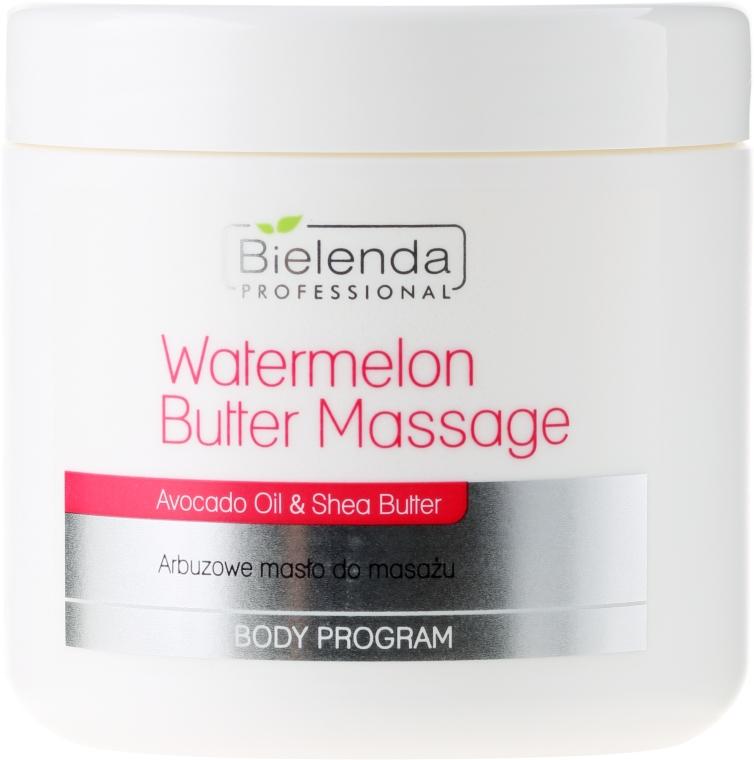 Arbuzowe masło do masażu - Bielenda Professional Watermelon Body Butter Massage — фото N1