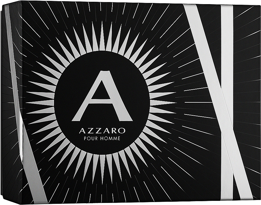 Azzaro Pour Homme - Zestaw (edt 100 ml + b/shm 100 ml + after/shave 50 ml) — фото N1