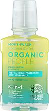 Kup Płyn do płukania ust 3 w 1 - Organic People Coconut And Mint