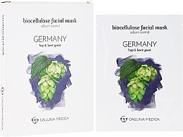 Kup PRZECENA! Maska w płachcie z bionanocelulozy do twarzy do skóry tłustej i mieszanej - Calluna Medica Germany *