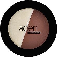 Kup Puder w kompakcie - Aden Cosmetics Face Compact Powder