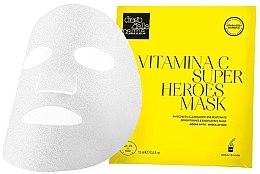 Kup Rozjaśniająco-energizująca maska w płachcie z witaminą C do twarzy - Diego Dalla Palma Vitamina C Super Heroes Mask
