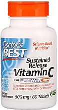 Kup Witamina C o przedłużonym uwalnianiu z PureWay-C, 500 mg - Doctor's Best