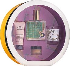 Kup Zestaw - Nuxe Culte Prodigieux Box (oil/100ml + h/cr/30ml + lip/balm/15ml + candle)
