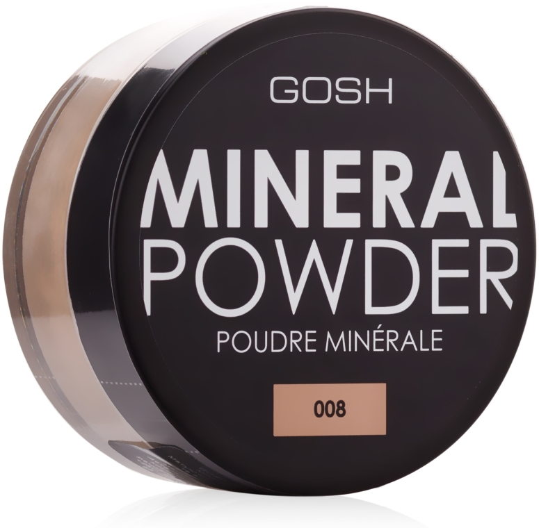 Mineralny puder sypki - Gosh Mineral Powder