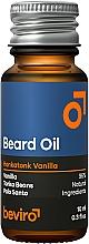 Kup Olejek do brody o waniliowym zapachu - Beviro Beard Oil Honkatonk Vanilla