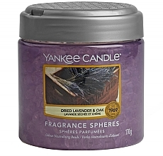 Kup Perełki zapachowe Suszona lawenda i dąb - Yankee Candle Dried Lavender & Oak Fragrance Spheres