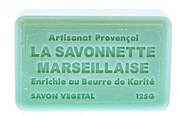 Marsylskie mydło w kostce Laguna - Foufour Savonnette Marseillaise Lagon — фото N2