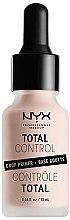 Kup Baza pod makijaż w kroplach - NYX Professional Makeup Professional Total Control Drop Primer