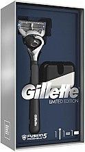 Kup Limitowany zestaw do golenia dla mężczyzn - Gillette Fusion5 ProShield Chill (razor + etui)