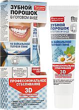 Kup PRZECENA! Wybielający proszek dentystyczny do zębów w formie pasty na bajkalskiej glince niebieskiej - Fitokosmetik Przepisy ludowe *