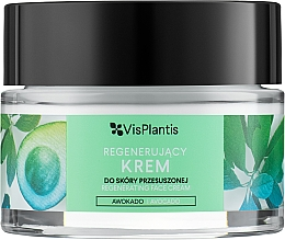 Kup Regenerujący krem do twarzy do skóry przesuszonej - Vis Plantis Regenerating With Avocado Face Cream