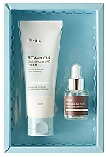 Kup Zestaw - iUNIK Beta Glucan Edition Skin Care Set (cr/60ml + ser/15ml)