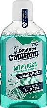 Kup Płyn do płukania ust zapobiegający osadzaniu się kamienia nazębnego - Pasta Del Capitano Plaque Remover Mouthwash