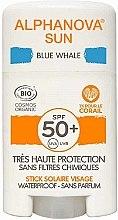 Kup Ochrona przeciwsłoneczna w sztyfcie SPF 50+ w kolorze niebieskim - Alphanova Sun Blue Whale SPF50+