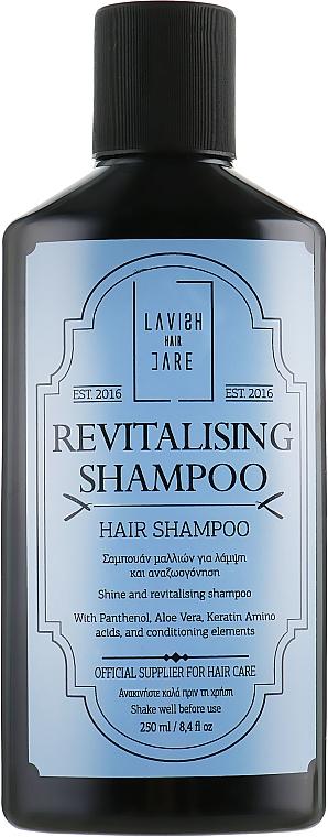 Rewitalizujący szampon do włosów dla mężczyzn - Lavish Care Revitalizing Shampoo — фото N1