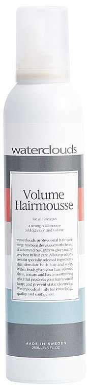 Pianka do włosów - Waterclouds Volume Hair Mousse — фото N1