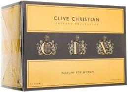 Kup Clive Christian C For Women - Zestaw (parfum/10ml + parfum/10ml + parfum/10ml)