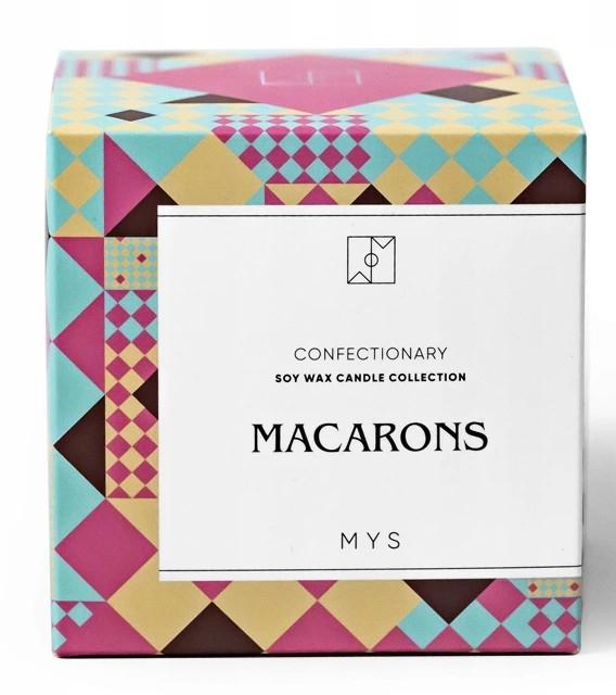 Sojowa świeca Makaroniki - Mys Macarons Candle — фото N2