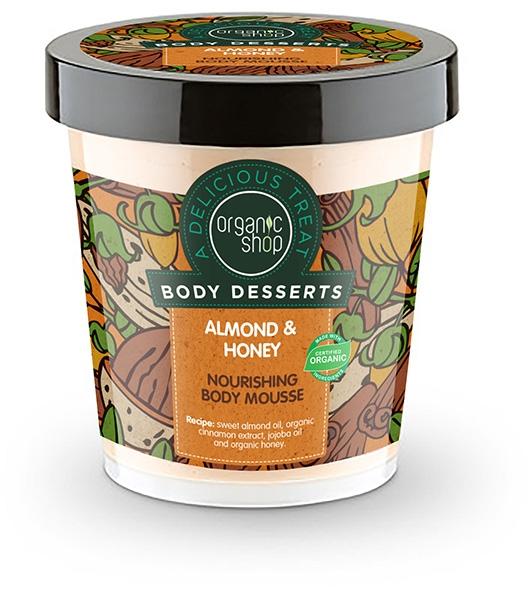 Odżywczy mus do ciała Migdał i miód - Organic Shop Body Desserts Almond & Honey