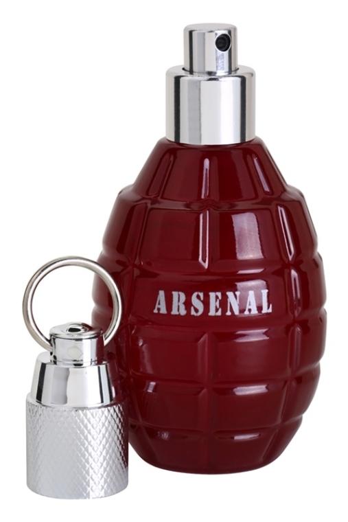 Gilles Cantuel Arsenal Red - Woda perfumowana — фото N4