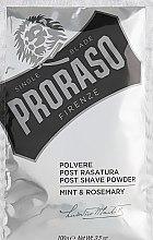 Kup Puder po goleniu Mięta i rozmaryn - Proraso Mint & Rosemary Post Shave Powder