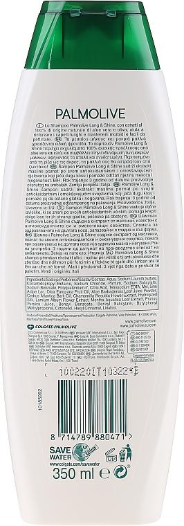 Szampon - Palmolive Naturals Long & Shine Shampoo — фото N2