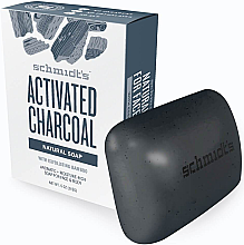 Kup Naturalne mydło w kostce - Schmidt's Naturals Bar Soap Activated Charcoal