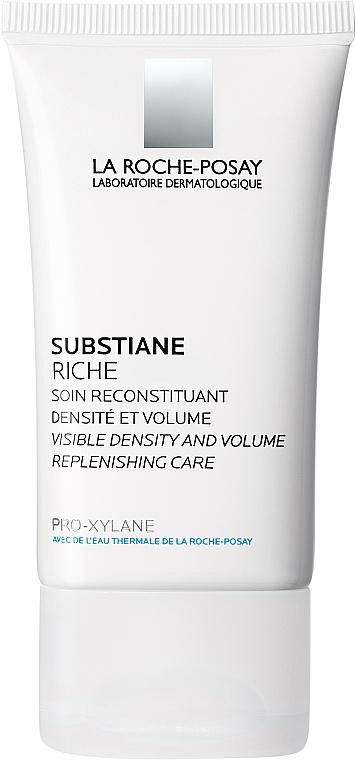Odbudowujący krem przeciwstarzeniowy do skóry normalnej i suchej - La Roche-Posay Substiane Visible Density and Volume Replenishing Care