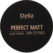 Kup Matujący puder do twarzy - Delia Perfect Matt Loose Powder Skin Defined